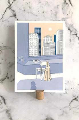 Mini print A4 'Ramen'