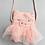 Thumbnail: Kids handtasje Mss Pig roze of ecru