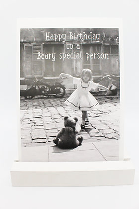Card + envelop 'Beary special person'