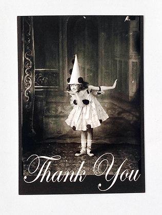 Card + envelop 'Thank you'