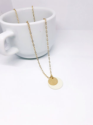 MADEBYMIE Necklace gold/white