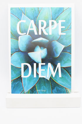 Card + envelop 'Carpe diem'