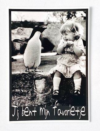 Card 'Je bent mijn favorietje'