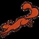 Ecureuil- vers gauche - fond transparent