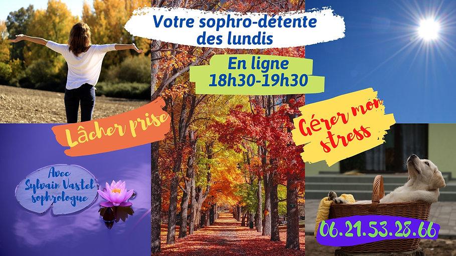 Sophro-détente des lundis - automne- cho