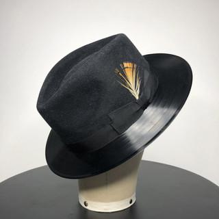Vinyl Record Hat