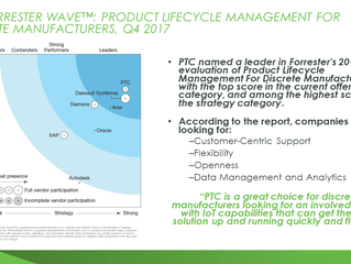 PTC Adds Emerging Technology to Their Core PLM Suite!