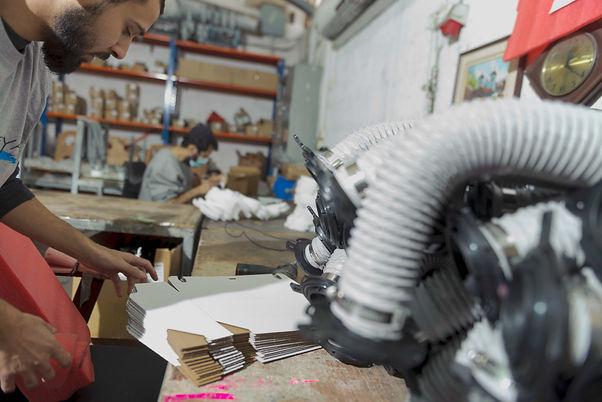 עבודה יצרנית במפעל