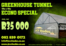 JCV SHADES - GREENHOUSE TUNNEL ECONO SPE