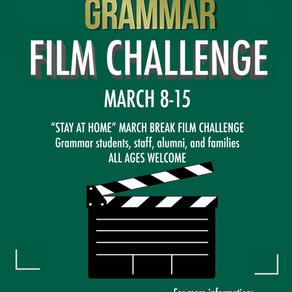 ARTS: 2nd Annual Grammar Film Challenge