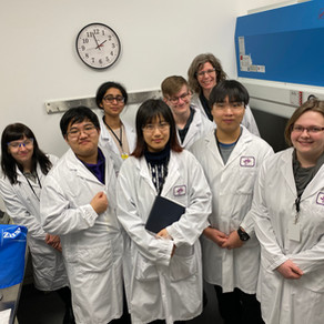 Academics: Synchrotron Club Trip