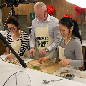 ALTRUISM: Grammar Connect hosts a Dumpling Cooking Class with the Dumpling Divas