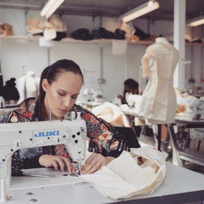 Charlotte Warr'16 finding her place in the fashion world