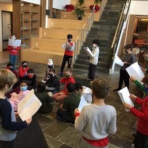ACADEMICS: Reader's Theatre in the Atrium