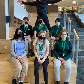 ACADEMICS: Senior School student Saesha Grover plans online Middle School Debate Tournament