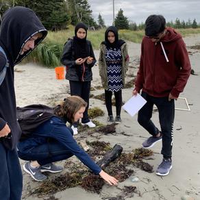 Academics: Senior School students visit McNab's Island
