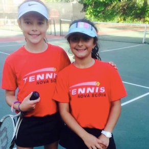 Athletics: A Tennis Win for Zarah and Isabella