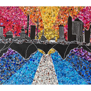 ARTS: Grade 10 Eggshell Mosaic Art