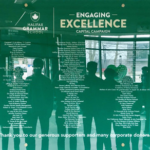 ALTRUISM: Engaging Excellence temporary donor wall is unveiled!