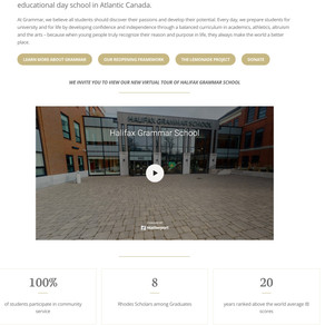 UPDATE: Grammar's Virtual Tour is now live!