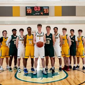 ATHLETICS: Go Gryphons Go! Senior Boys Basketball Team make it to regional playoffs
