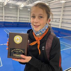 Athletics: Hajek siblings find success on the tennis court