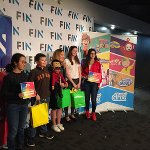 Arts: Grammar students brings home three awards from the FIN Kids Film Festival