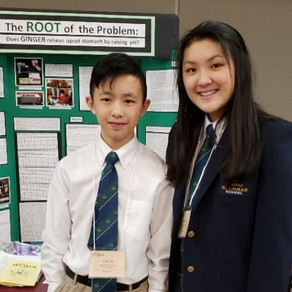 Academics: Grammar siblings show science smarts