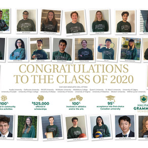 Welcome to the alumni family, Class of 2020!