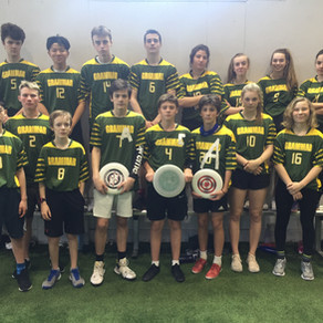 Athletics: Frisbee teams closes competition for senior division title