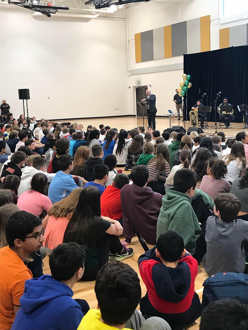 Halifax Grammar New Song Launch Photo