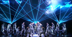 NBC UPFRONT - JLO Jennifer Lopez lasers