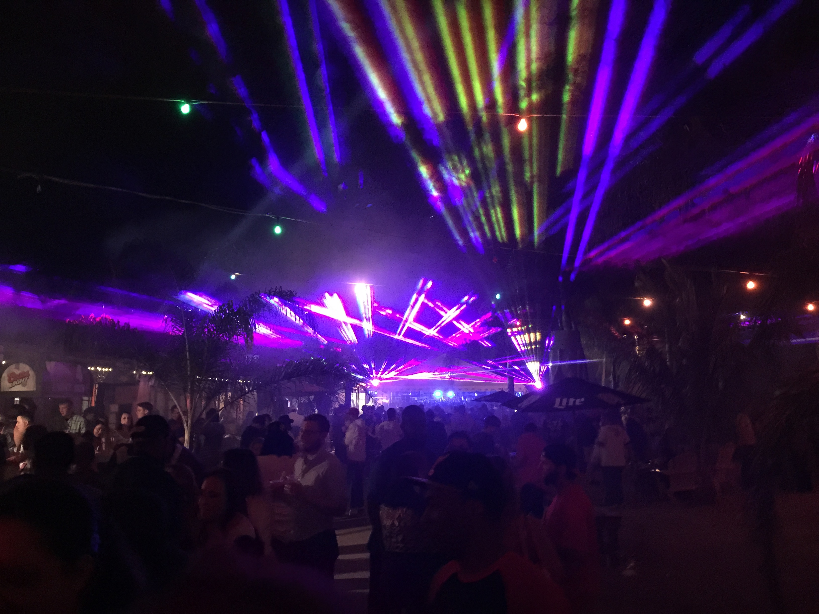 TIKI Bar Solomons MD Opening Lasers