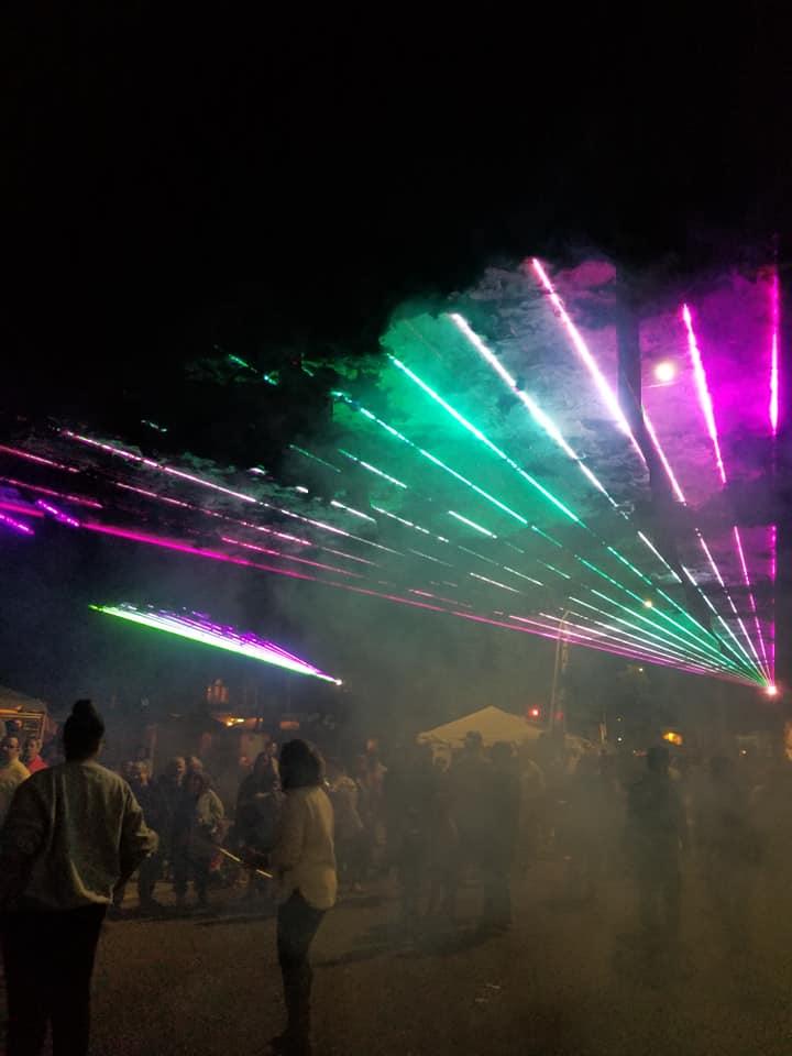 Apple Harvest Laser Show