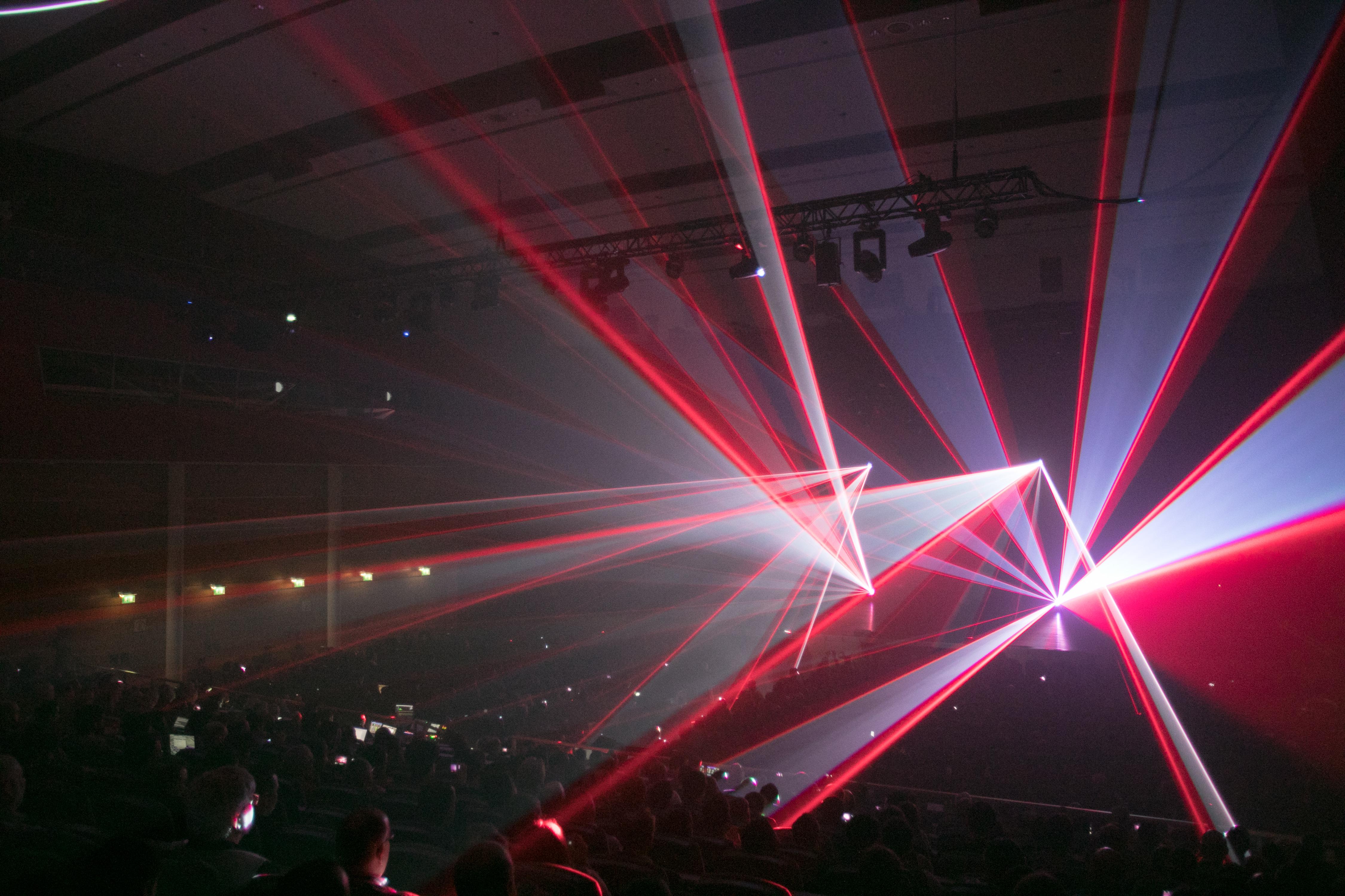 Summit Laser show