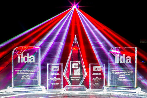 Award winning laser light show company