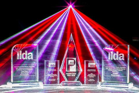 Awards for custom laser show design