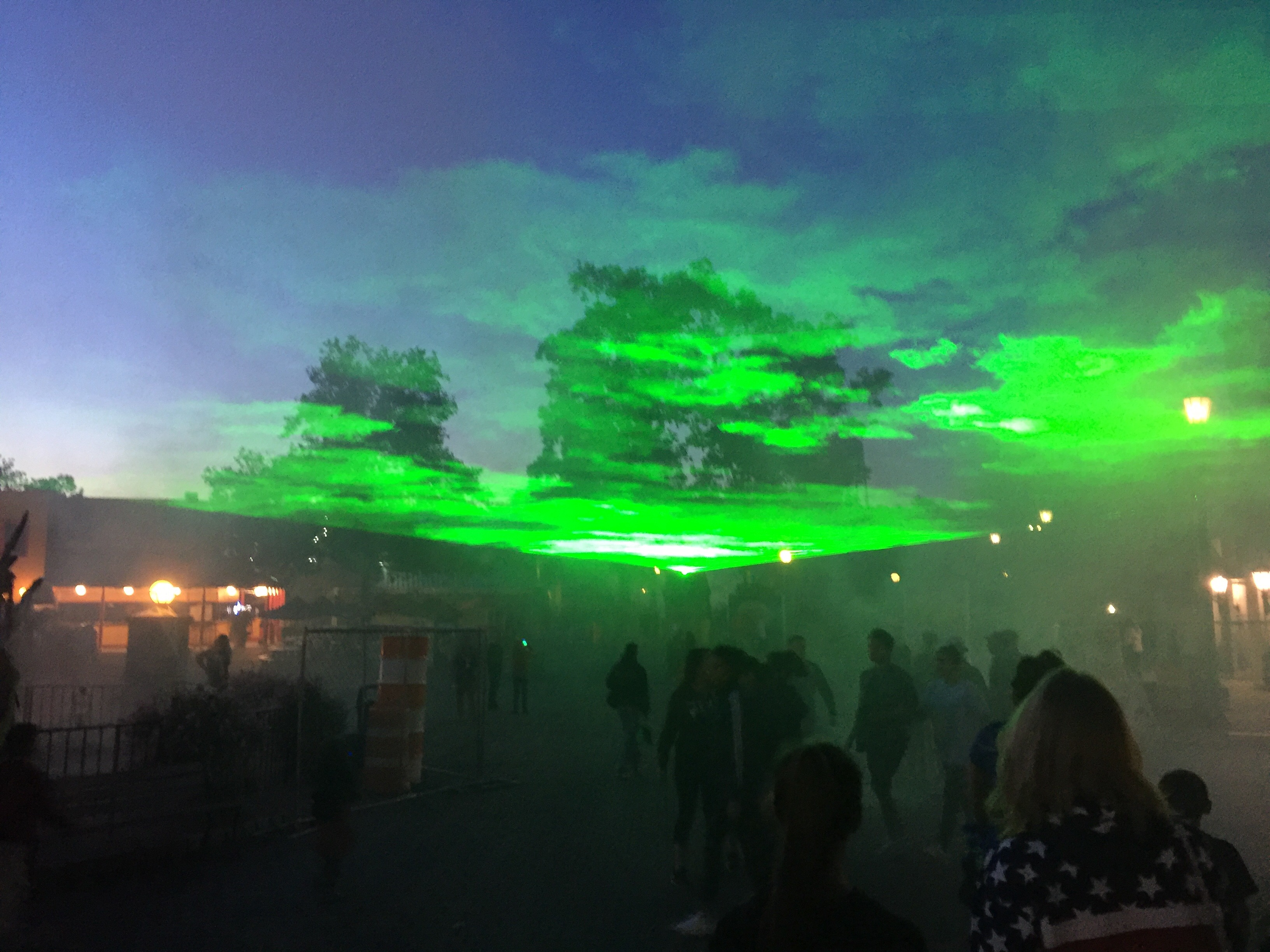 SIX FLAGS GREAT ADVENTURE LASERS