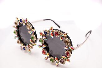 ashley lashes (round gems black shades)_