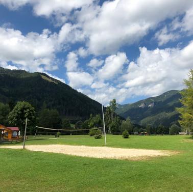 Beach-Volleyball Platz