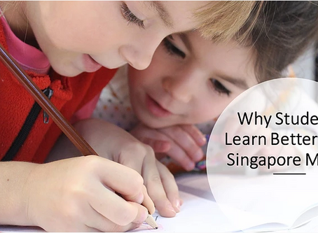 Why Students Learn Better with Singapore Math!