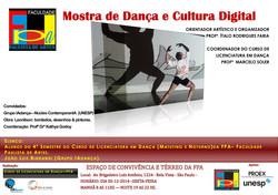 Mostra de dança e cultura digital