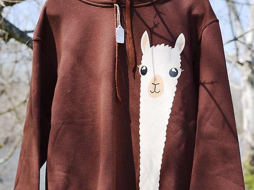 Long Neck Alpaca Sweatshirt