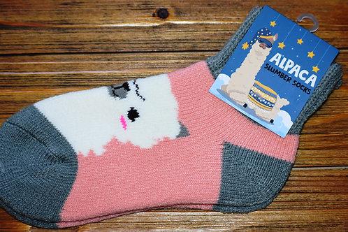 Alpaca Slumber Ankle Socks