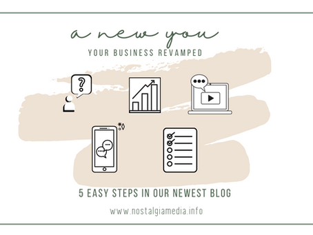 A New You: Your Business Revamped