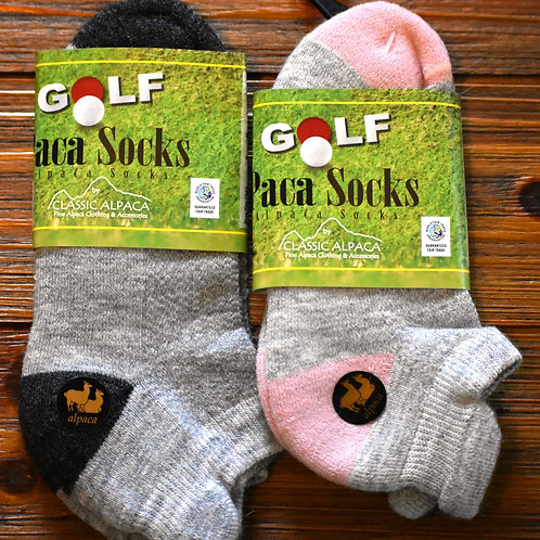 Alpaca Fleece Golf Socks