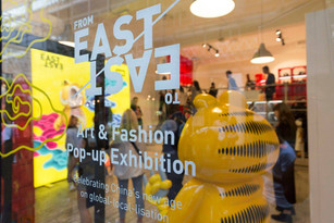 From EAST to EAST pop-up exhibition