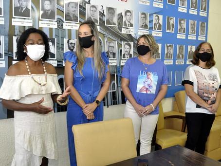 Vice-prefeita de Barra Mansa Fátima Lima participa de evento em alusão ao mês da mulher