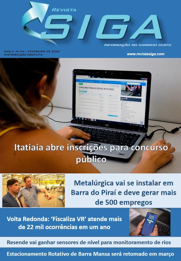 Revista Siga - Nº 64 - Fevereiro 2020