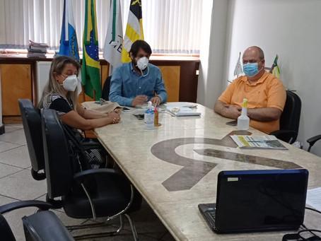 Volta Redonda: Samuca se reúne com MP para falar sobre tratamento precoce da Covid-19